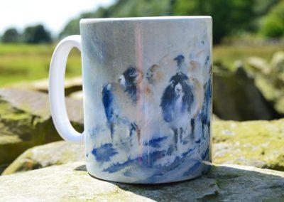 Snow Storm Ceramic Mug